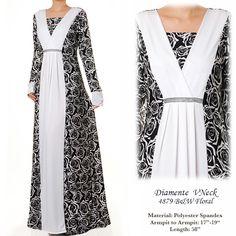 4879Diamente Jubah Abaya Dress - Standard Size S/M US$34 FREE SHIPPING WORLDWIDE  Buy It Here --> http://shop.pe/JCTJn