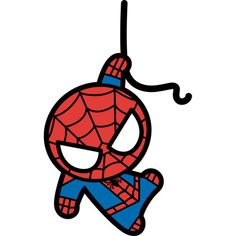 Simply Superheroes - Kawaii Spiderman Fathead