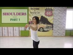 Shoulders - 6 exercises to develop your body skills. Anna LEV - YouTube Line Dancing Lessons, Jumping Cat, Exercises, Workouts, Dance Movement, Dance Stuff, Salsa Dancing, Ballroom Dance, Dance Moves