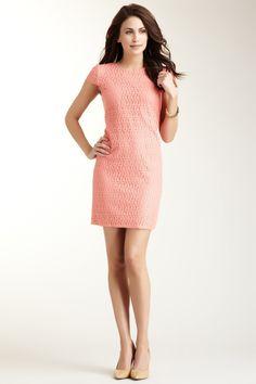 Suzi Chin Eyelet T-Shirt Dress
