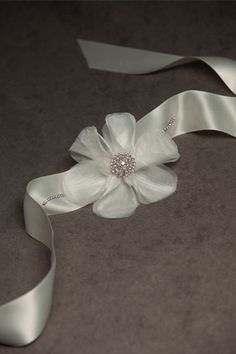 wrist corsage like the ribbon for a tie idea