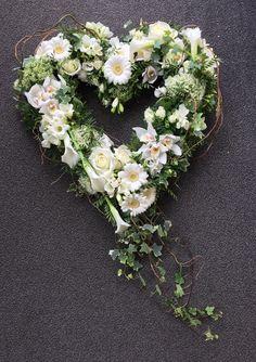 Heart wreath By Port Bouvard Flowers
