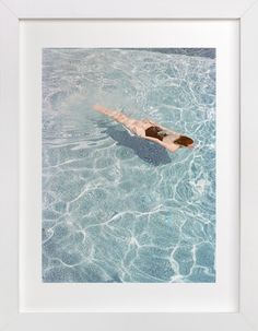 Going for a Swim by Whitney Deal at minted.com