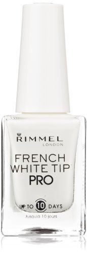 Rimmel Lasting Finish Pro Nail Enamel French White Nail Tip Liner ** Check out this great product. (This is an affiliate link) French Lingerie, Rimmel London, Dip Powder, White Nails, Nail Tips, You Nailed It, Tattoo Quotes, Manicure, Perfume Bottles