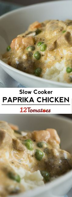 Slow Cooker Paprika Chicken
