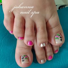 Summer Toe Nails, Fire Nails, Toe Nail Art, Nail Designs, Lily, Pretty Pedicures, Designed Nails, Toenails Painted, Simple Toe Nails