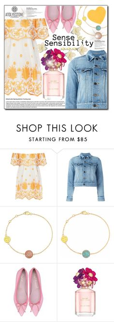 """Atolyestone"" by konstadinagee ❤ liked on Polyvore featuring Miguelina, Yves Saint Laurent and Marc Jacobs"