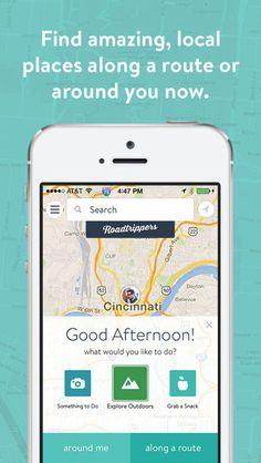 Roadtrippers is a Handy Summer Travel App That Helps Plan Roadtrips #festivals trendhunter.com