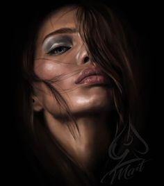 So beautiful. Artistic Photography, Fine Art Photography, Portrait Photography, Street Photography, Female Portrait, Portrait Art, Female Art, Girl Face, Woman Face