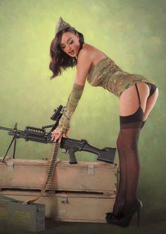 Girls Got Guns | 2013 Hot Shots Calendar - Good Looking Ladies for a Good Cause (Photos ...