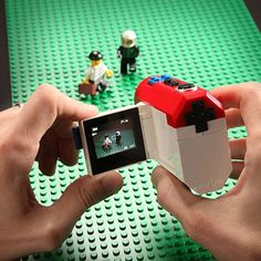 LEGO stop animation camera!  Want this!