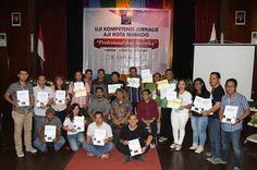 Dua Hari Digodok AJI, 18 Jurnalis Manado Dinyatakan Berkompetensi - TELEGRAF…
