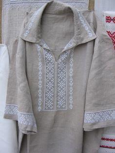 Men's shirt. Linen.