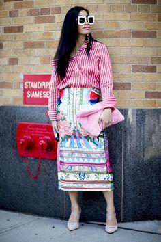 Best Street Style New York Fashion Week SS18- ellemag