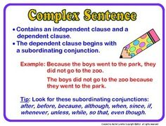 And Compound Sentences, Complex Compound Sentences, Complex Sentences ...
