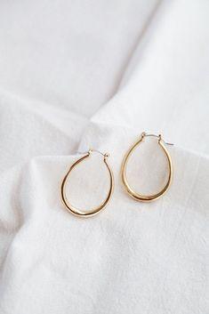 Alda Hoops #simple #earrings