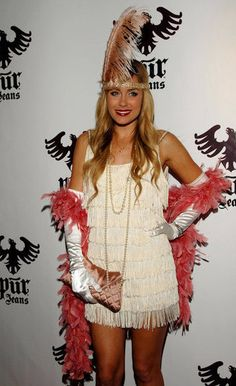 Lauren Conrad's Halloween Costume. I know flappers can be kinda cliche but LC rocked it.