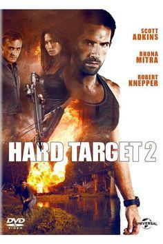 Hard Target 2 Movie starring Scott Adkins, Robert Knepper, and Rhona Mitra Movie Sequels, Hd Movies, Case Walker, Interesting Movies To Watch, Karate, Claude Van Damme, Rhona Mitra, Action Movie Poster, Movie Posters