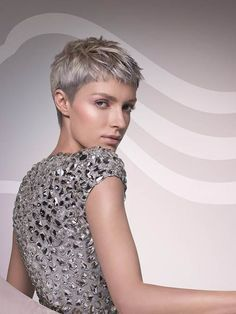 Image result for light ash blonde hair color short pixie