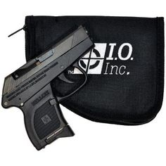 I.O. INC. HELLCAT II .380 - BLACK FINISH •DAO •Steel slide & aluminum frame machined from solid billets using American Haas CNC equipment - NO CASTINGS •Features ex