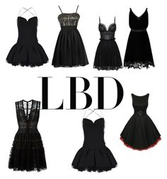 """""""Lbd"""" by starsstripesforever ❤ liked on Polyvore featuring Valentino, Alexander McQueen, Elie Saab and Miss Selfridge"""