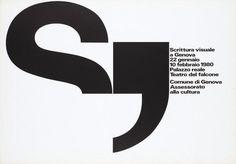 Scrittura visuale a Genova-Plakat