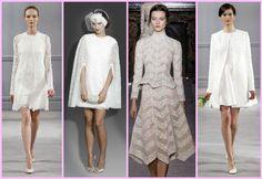 vestido de noiva curto duas pecas