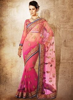 Indian dress Bollywood saree Designer saree by myglitteringworld, $499.99