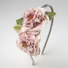 fabric millinery flower #millinery #judithm #hats
