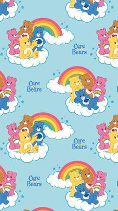 Trippy Wallpaper, Cartoon Wallpaper Iphone, Bear Wallpaper, Iphone Background Wallpaper, Kawaii Wallpaper, Cute Cartoon Wallpapers, Pretty Wallpapers, Iphone Wallpapers, Screen Wallpaper