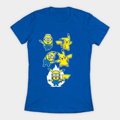 Pikaminion Fusion Womens T-Shirt