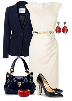 Vestido branco social lindo!