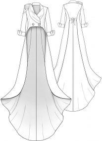 Lekala Sewing Patterns - Femmes Vestes Sewing Patterns Made to Measure and Royalty Free