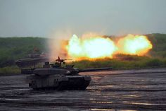 army Type 74 and 10, JGSDF