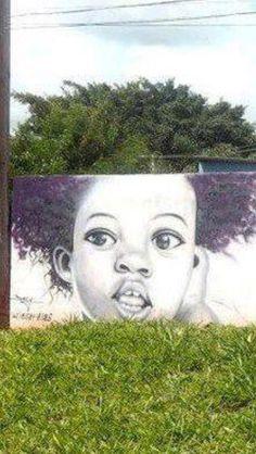 Afro Art in nature Afro, African American Artwork, Natural Hair Art, Africa Art, Human Art, Conceptual Art, Beauty Art, Black Art, Cool Art
