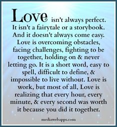 Love Quotes : QUOTATION – Image : Quotes Of the day – Description Love is. Sharing is Power – Don't forget to share this quote ! Love Quotes For Her, Great Quotes, Quotes To Live By, Me Quotes, Inspirational Quotes, The Words, Short Words, Valentines Day Love Quotes, Love My Husband