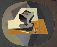 Tres cigarrillos. Los cigarrillos (1934) Oleo sobre tela - Emilio Pettoruti (Argentino 1892-1971) Museo Nacional de Bellas Artes de Buenos Aires