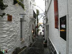 Calles de Cadaqués (España)