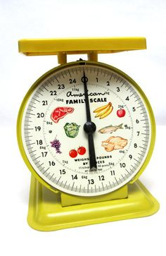Urban Farmhouse American Family Food Scale by sweetie2sweetie
