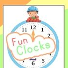 Here's another Freebie from TinyGrads.com!This time we put together these cute clocks that can be downloaded and used in your classroom or living...