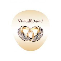 Eticheta autocolanta Aleco - model 1 Heart Ring, Gold Rings, Rose Gold, Model, Jewelry, Jewlery, Jewels