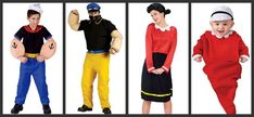 Popeye: Family Hallowen Costume