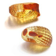 Janis Jakobson. amber rings