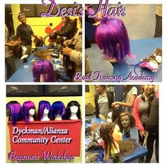 DESI'S HAIR BRAID TRAINING ACADEMY  BEGINNER WORKSHOPS AT  Dyckman/Alianza Community Center Tuesday's
