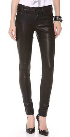 MOTHER Freja + MOTHER The Muse Vegan Leather Pants | SHOPBOP