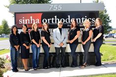 The Sinha Orthodontics Team