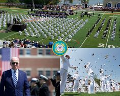 The U.S. Coast Guard Academy graduated 240 new officers along with seven international students with President Joseph R. Biden Jr. delivering the keynote address during the 140th Commencement Exercises. Coast Guard Academy, Patriotic Poems, Keynote, Joseph, Jr, Presidents, Exercises, Students, America