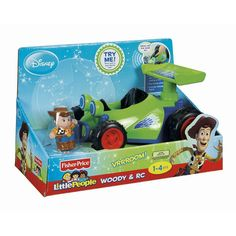Fisher-Price Disney Little People Large Vehicle - Woody and RC