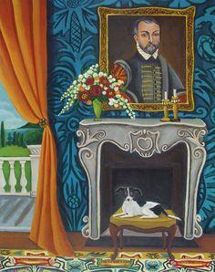 Original Painting Still life InteriorNiccolos by CatherineNolinArt, $525.00