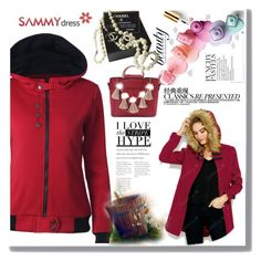 """""""Red coat is always in mode"""" by red-rose-girl ❤ liked on Polyvore featuring Chanel"""